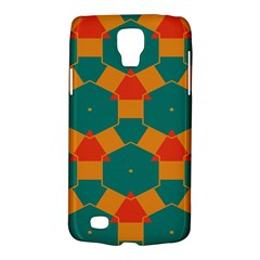 Honeycombs and triangles pattern                                                                                      			Samsung Galaxy S4 Active (I9295) Hardshell Case