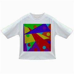 Colorful abstract design Infant/Toddler T-Shirts