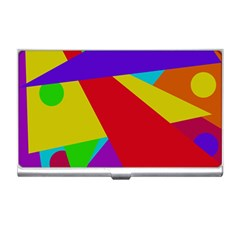 Colorful abstract design Business Card Holders