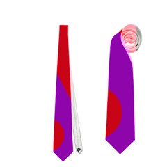 Colorful abstract design Neckties (One Side)