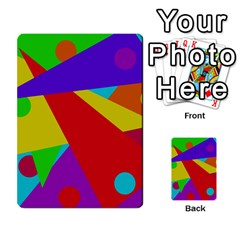 Colorful abstract design Multi-purpose Cards (Rectangle)
