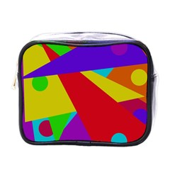 Colorful abstract design Mini Toiletries Bags