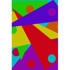 Colorful abstract design 5.5  x 8.5  Notebooks