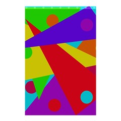 Colorful abstract design Shower Curtain 48  x 72  (Small)