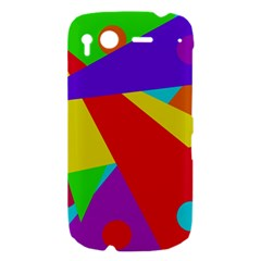 Colorful abstract design HTC Desire S Hardshell Case