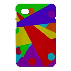 Colorful abstract design Samsung Galaxy Tab 7  P1000 Hardshell Case