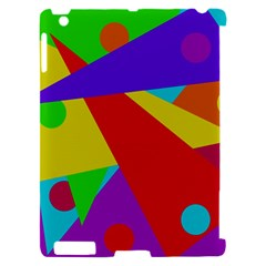 Colorful abstract design Apple iPad 2 Hardshell Case (Compatible with Smart Cover)