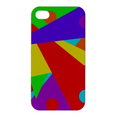 Colorful abstract design Apple iPhone 4/4S Premium Hardshell Case