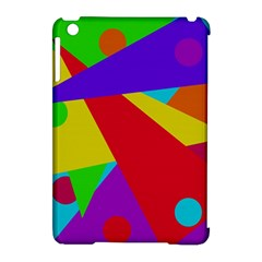 Colorful abstract design Apple iPad Mini Hardshell Case (Compatible with Smart Cover)