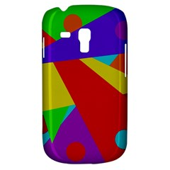 Colorful abstract design Samsung Galaxy S3 MINI I8190 Hardshell Case