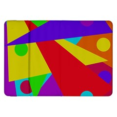Colorful abstract design Samsung Galaxy Tab 8.9  P7300 Flip Case