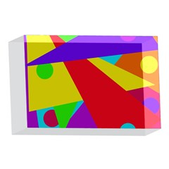 Colorful abstract design 4 x 6  Acrylic Photo Blocks