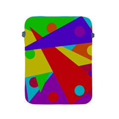Colorful abstract design Apple iPad 2/3/4 Protective Soft Cases