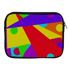 Colorful abstract design Apple iPad 2/3/4 Zipper Cases