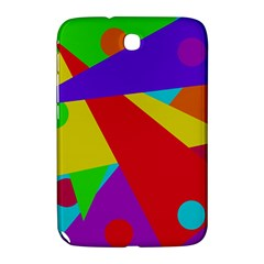 Colorful abstract design Samsung Galaxy Note 8.0 N5100 Hardshell Case