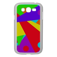 Colorful abstract design Samsung Galaxy Grand DUOS I9082 Case (White)