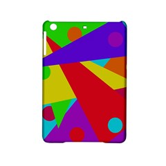 Colorful abstract design iPad Mini 2 Hardshell Cases
