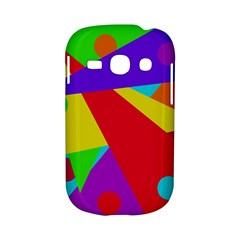 Colorful abstract design Samsung Galaxy S6810 Hardshell Case