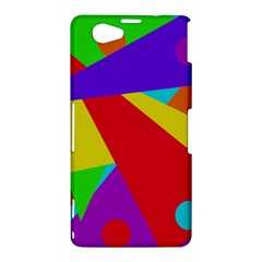 Colorful abstract design Sony Xperia Z1 Compact