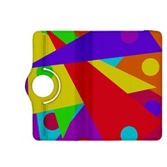 Colorful abstract design Kindle Fire HDX 8.9  Flip 360 Case