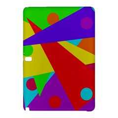 Colorful abstract design Samsung Galaxy Tab Pro 12.2 Hardshell Case