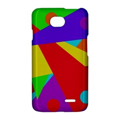 Colorful abstract design LG Optimus L70
