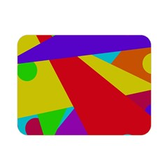 Colorful abstract design Double Sided Flano Blanket (Mini)