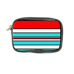 Blue, red, and white lines Coin Purse