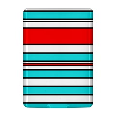Blue, red, and white lines Kindle 4