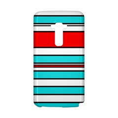 Blue, red, and white lines LG G Flex