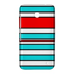 Blue, red, and white lines Nokia Lumia 630