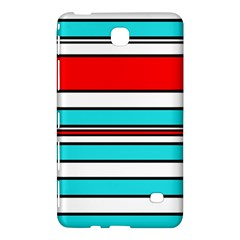 Blue, red, and white lines Samsung Galaxy Tab 4 (7 ) Hardshell Case