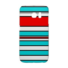 Blue, red, and white lines Galaxy S6 Edge