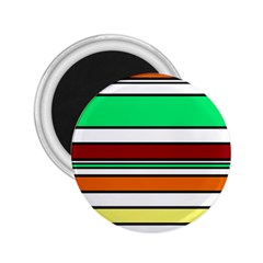 Green, orange and yellow lines 2.25  Magnets