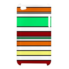 Green, orange and yellow lines Apple iPod Touch 4
