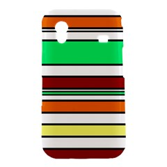 Green, orange and yellow lines Samsung Galaxy Ace S5830 Hardshell Case