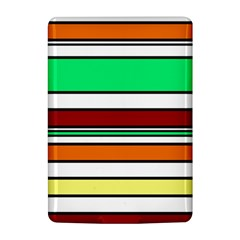 Green, orange and yellow lines Kindle 4