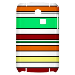 Green, orange and yellow lines Samsung S3350 Hardshell Case