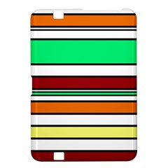 Green, orange and yellow lines Kindle Fire HD 8.9