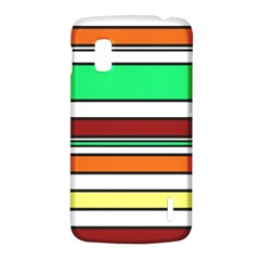 Green, orange and yellow lines LG Nexus 4