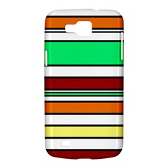 Green, orange and yellow lines Samsung Galaxy Premier I9260 Hardshell Case