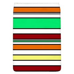 Green, orange and yellow lines Flap Covers (L)