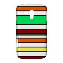 Green, orange and yellow lines Samsung Galaxy Duos I8262 Hardshell Case