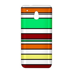 Green, orange and yellow lines HTC One Mini (601e) M4 Hardshell Case