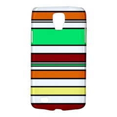 Green, orange and yellow lines Galaxy S4 Active