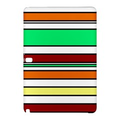 Green, orange and yellow lines Samsung Galaxy Tab Pro 10.1 Hardshell Case