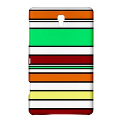 Green, orange and yellow lines Samsung Galaxy Tab S (8.4 ) Hardshell Case