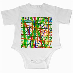 Colorful lines Infant Creepers