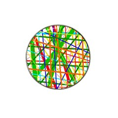 Colorful lines Hat Clip Ball Marker (10 pack)