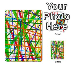 Colorful lines Multi-purpose Cards (Rectangle)